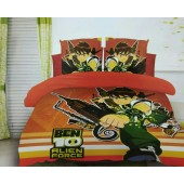 Cartoon Double Bedsheet