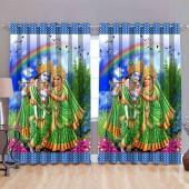 Digital Print Curtain 5 Feet