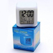 Color Changing Digital Alarm Clock
