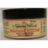 Khadi Natural Herbs Apricot & Honey Face & Body Scrub