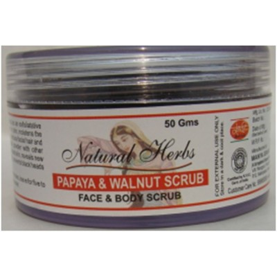 PAPAYA & WALNUT FACE & BODY SCRUB