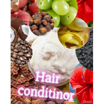 Home Made Pure Ayurvedic Hair Conditioner - Prepared by Ayurveda Expert (500 gms. Pack)