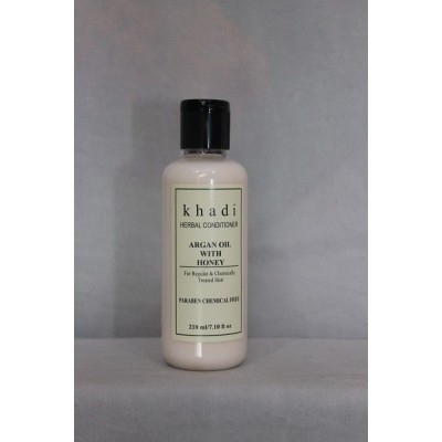 Khadi Natural Herbs Argan Oil With Honey Hair Conditioner